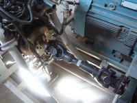 Agregat z silnika 3.0 V6 - obciążenie promieniowe wału