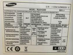 Lodówka Samsung RL41HCSW - oblodzenie szuflad zamrażarki, wcześniej lód na dole