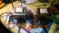 Połączenie równoległe dwóch transformatorów... Buzzer!