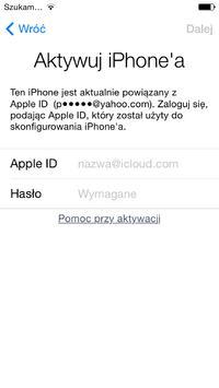 [Zrobi�] Zdj�cie blokady iCloud - Apple ID