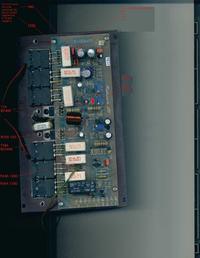 Wzmacniacz Rduch MWL-7A , WM200-3 spalona płyta stopnia końcowego
