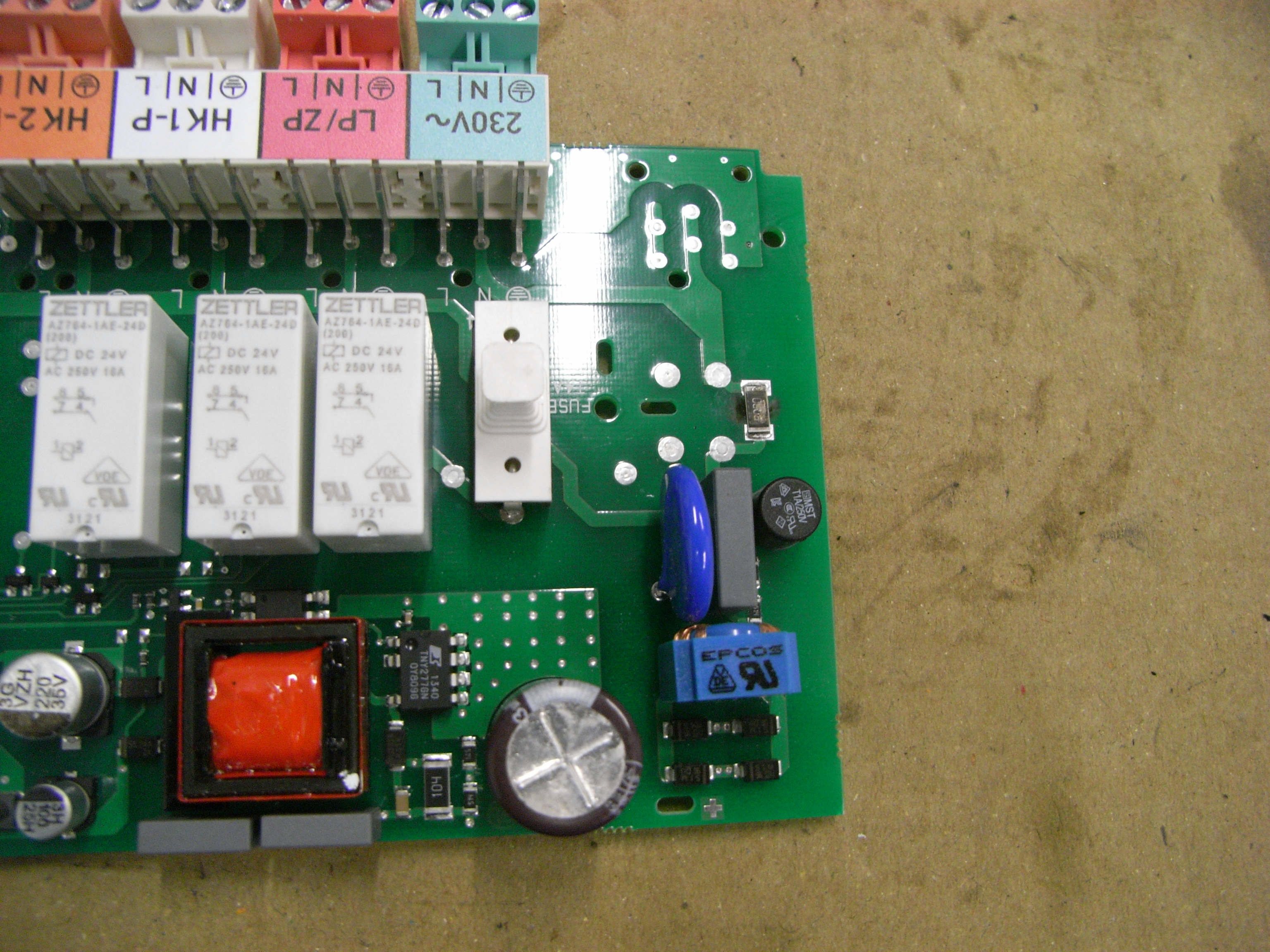 vaillant VR61/4 - przepalony rezystor SMD