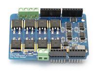 Arduino Leonardo + Arduino Motor Shield 8A (22V)