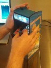 Miniaturowy automat do gry Ms.Pacman