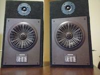 Radzieckie głośniki 2W w odsłonie OB - Open Baffle