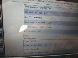 Skoda Stream SKZ7Z3H0020391 kod