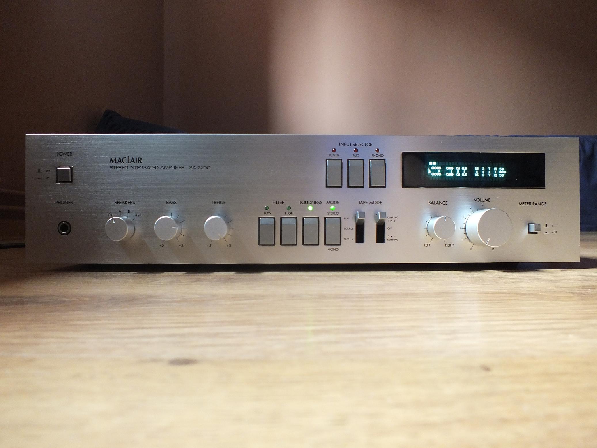 [Sprzedam] Wzmacniacz Maclair SA-2200