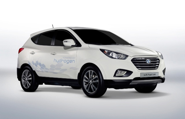 Hyundai obiecuje wyprodukowa� 1000 samochod�w na wod�r do roku 2015
