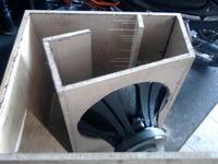 Konstrukcja DIY na SW STX 18.4.1300 W trakcie pracy (zdjęcia)