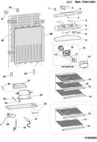 Lodówka Ariston Hotpoint BMBM1822V (FR)