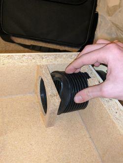 Dantax subwoofer push pull podłączenie