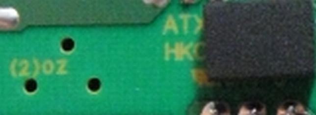 HKC Power Gaming HM model: ATX780HM - spalona dioda F20C20C, skacze napięcie