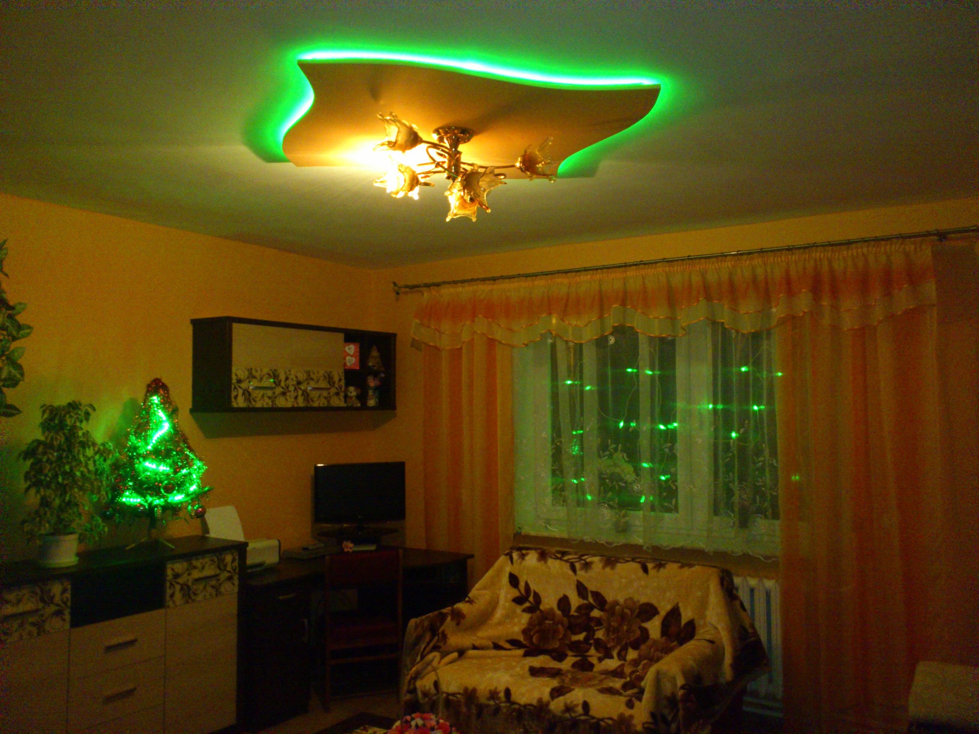 �wi�teczne o�wietlenie pokoju RGB