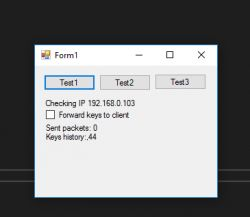 Bezprzewodowa wirtualna klawiatura HID dla drugiego komputera na WiFi