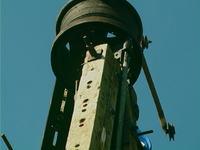 Słup energetyczny - Elektrownia Wiatrowa