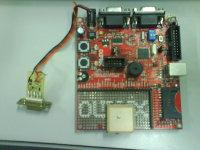 ARM7 i GPS kontrola prędkości i położenia