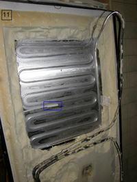 Lodówko-zamrażarka Ariston MBA3832V - nie działa
