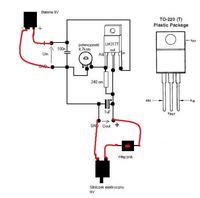 Wiatraczek na silniczek elektryczny 9V