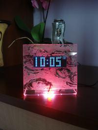 Czasoodmierzacz lub zegar z budzikiem i datą