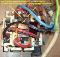 Nie włącza lodówko-zamrażarka Polar CM355 (in. CALEX)