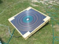 Kolektor s�oneczny - podgrzewanie wody w ma�ym basenie
