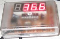 Termometr z wyświetlaczem LED i sondą temperatury