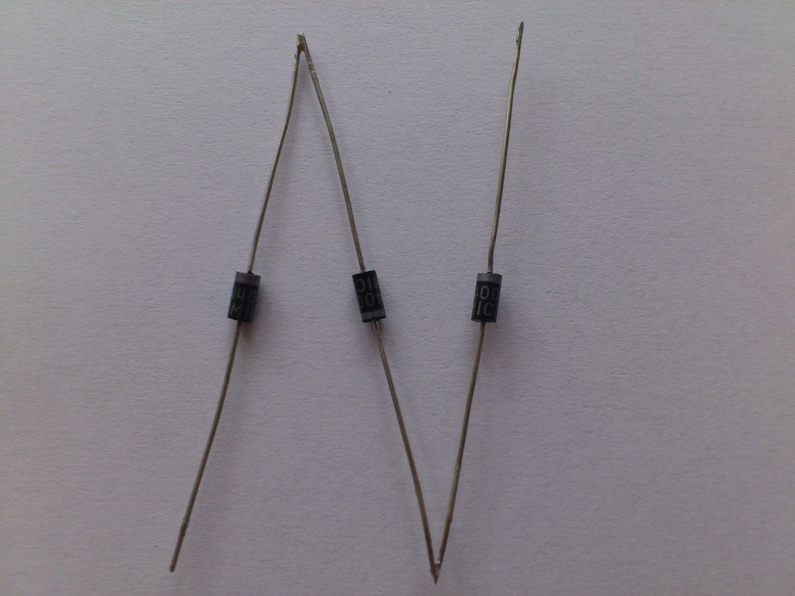 Nagrzewanie diod po��czonych szeregowo