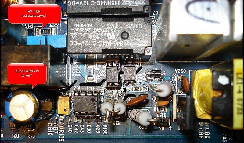 APC Back-UPS RS 500 - szumiąca przetwornica na układzie scalonym UC3843