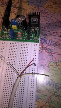 STM32F407VG - Zasilanie klawiatury PS/2 z STM32F407VG
