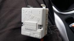 Kuchnia gaz-elektr Amica SEG2.32SZ podłaczenie kablami termostatu