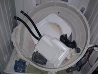 pralka whirlpool AWOD - Wybicie bębna z łożysk