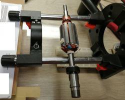 Chińskie wrzeciono szczotkowe CNC - wyważenie w domowych warunkach