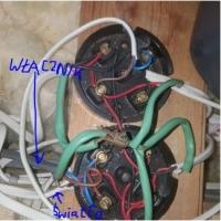 Podłączenie wentylatora łazienkowego pod podwójny włącznik.