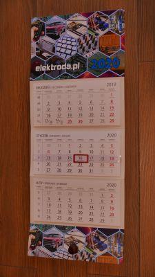 Robimy kalendarz elektroda.pl na rok 2020 - czas start!