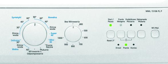 Beko/Volumax5 - nie startuje z praniem [zdjecie+opis]