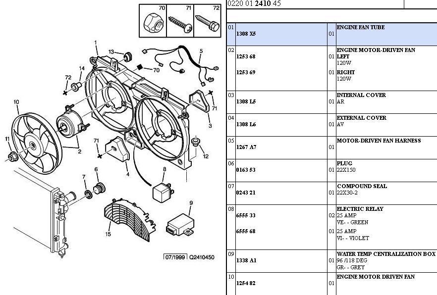 Citroen Saxo VTS 1,6 8V  -  przegrzewanie silnika
