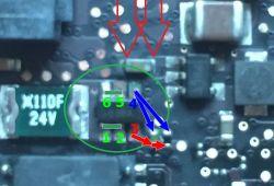 MacBook a1278 - MacBook nie włącza się po zalaniu, uszkodzone elementy.