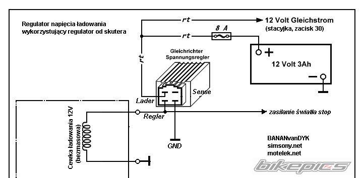 Simson SR50 zmasowanie cewki bezmasowej, kt�ry kabel?