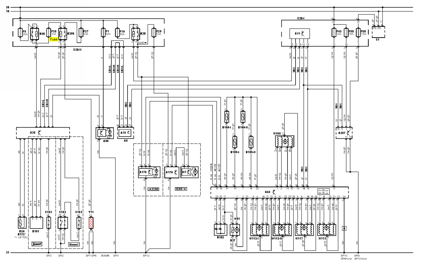 34 Ford Focus Air Conditioning Diagram