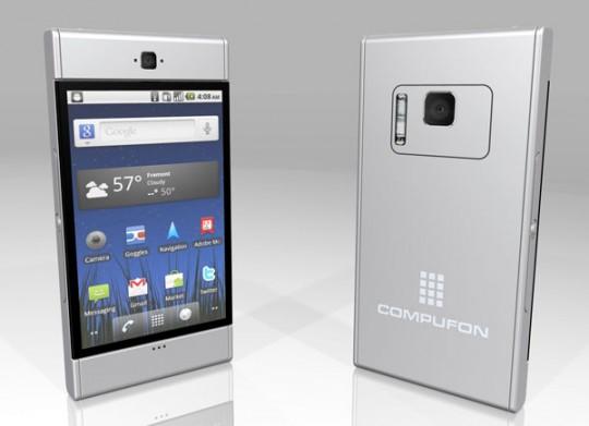 Tablet i netbook w jednym: Compufon od Kosmaz Technologies