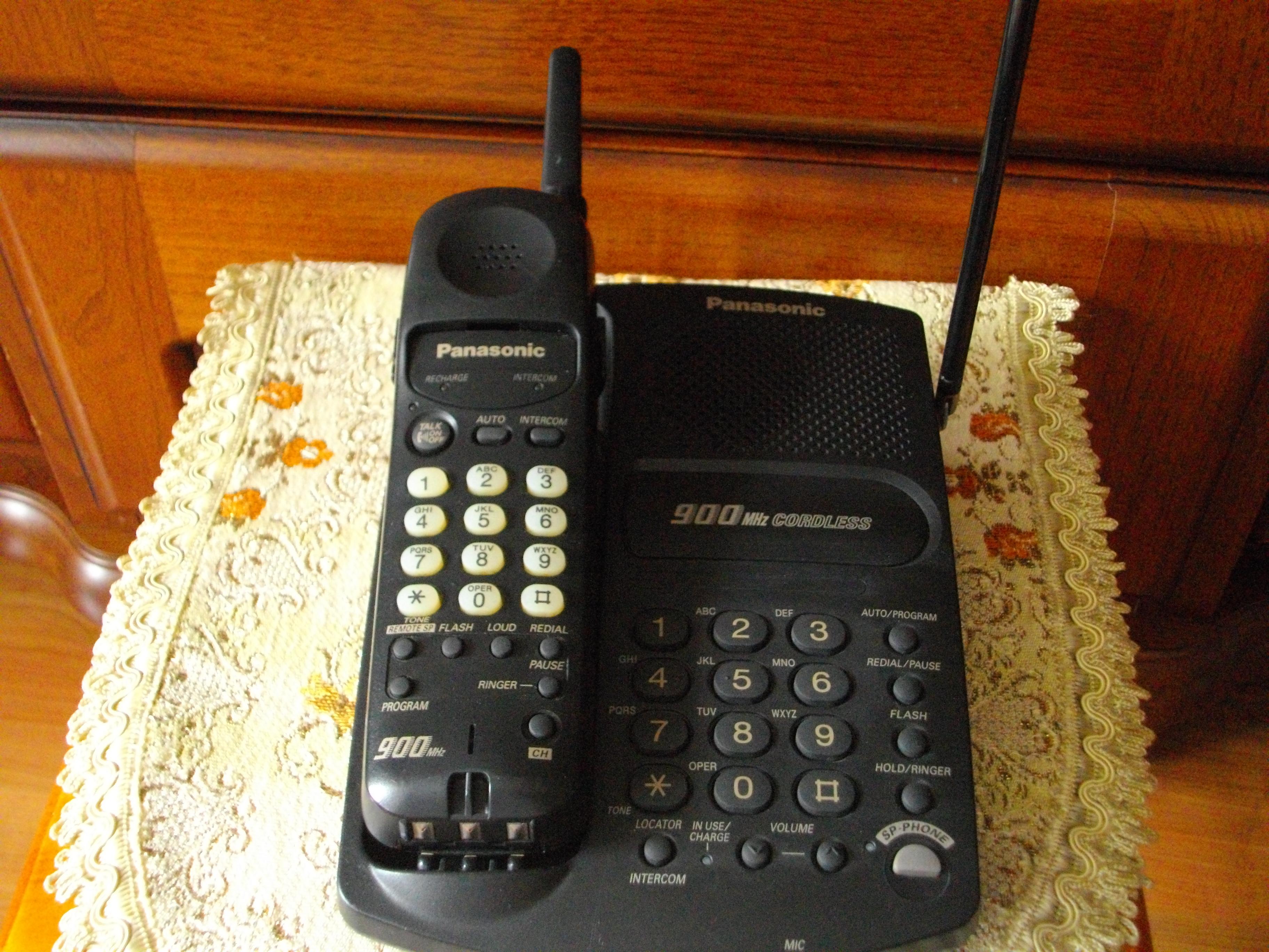 [Sprzedam] Telefon bezprzewodowy PANASONIC KX-TC1451B