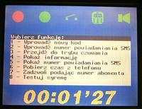 Centrala alarmowa z powiadomieniem GSM (AVR 90S8515)