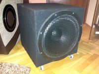 Kompaktowy subwoofer closed B&C 15PLB76
