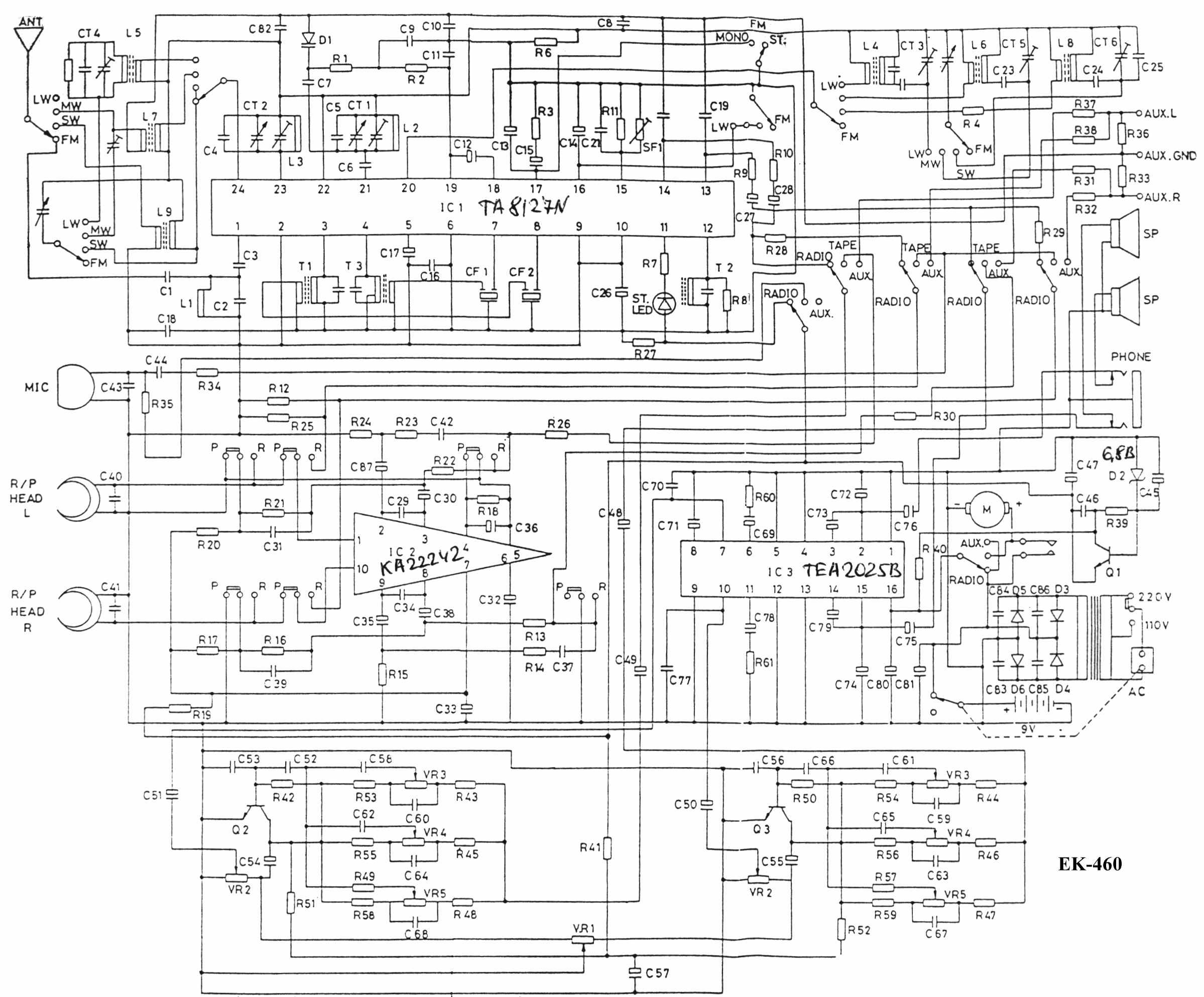 wie�a thompsonic - radio - zmiana zakresu radia