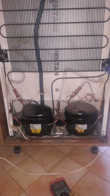 Electrolux ER 8124 I - lodówka nie chłodzi, zamrażalnik tak. 2 agregaty