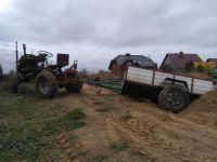 Traktorek SAM z fiata 126p