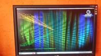 Grafika Geforce 520 zniekształcony obraz na monitorze