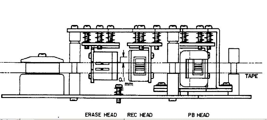 Magnetofon Akai GX 215-D  brak wys. ton�w i r�nica poziomu zapisu...