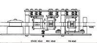Magnetofon Akai GX 215-D brak wys. tonów i różnica poziomu zapisu...
