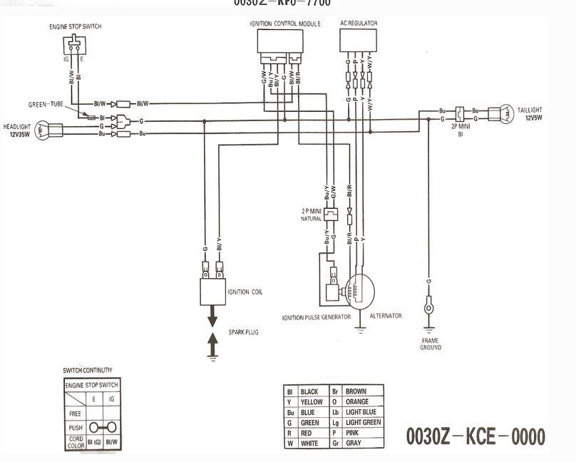 ktm 600 wiring diagram